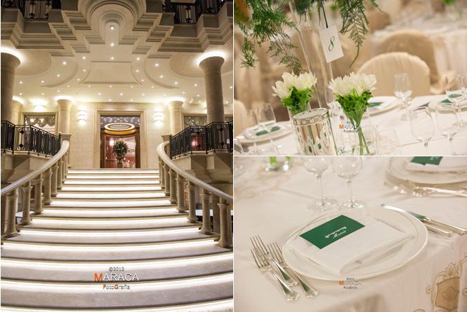 nozze in verde - set da tavola