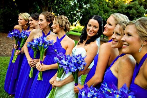 bouquet iris viola firenze