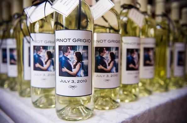 bomboniera originale vino