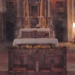 allestimento chiesa con girasoli