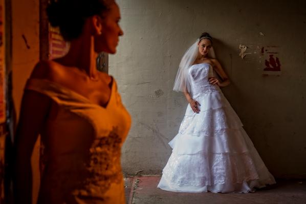 abito da sposa organza e pizzo ilaria pericoli