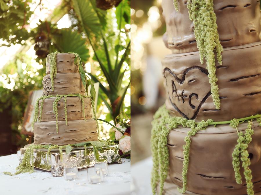 torta nuziale particolare albero