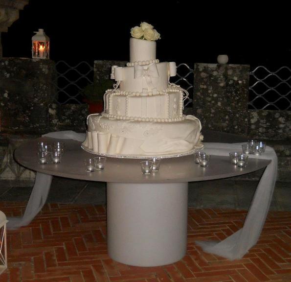 wedding cake pasta di zucchero