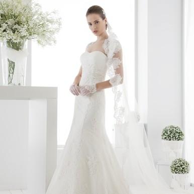 abito da sposa sirena arezzo le spose di giulia