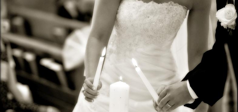 rito delle candele al matrimonio