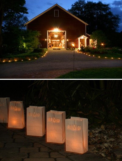 candele ingresso location matrimonio