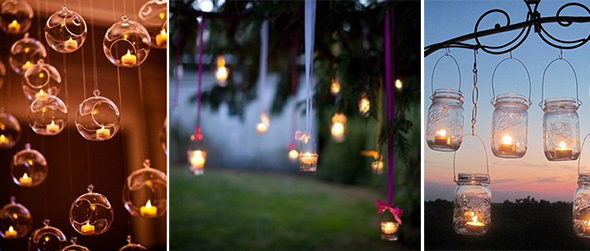 Nozze ganze tutto per sposarsi in toscana centrotavola con candele per il matrimonio e tante - Bottiglie vetro ikea ...