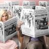 scherzi matrimonio ristorante giornale sposi