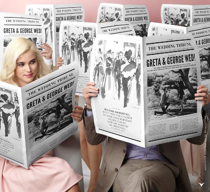 23d85c5d400b scherzi matrimonio ristorante giornale sposi