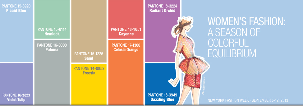 colori pantone matrimonio 2014