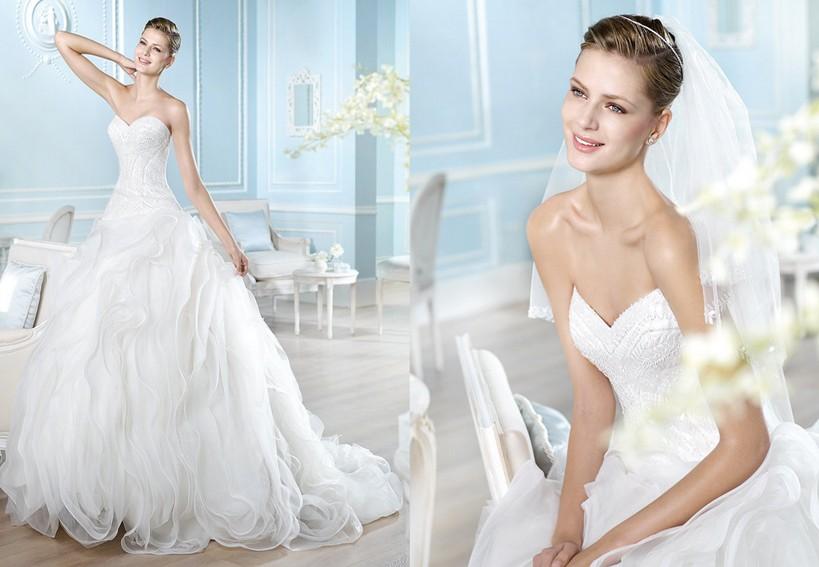 0b0831b33b1b abito da sposa organza renato sposa arezzo