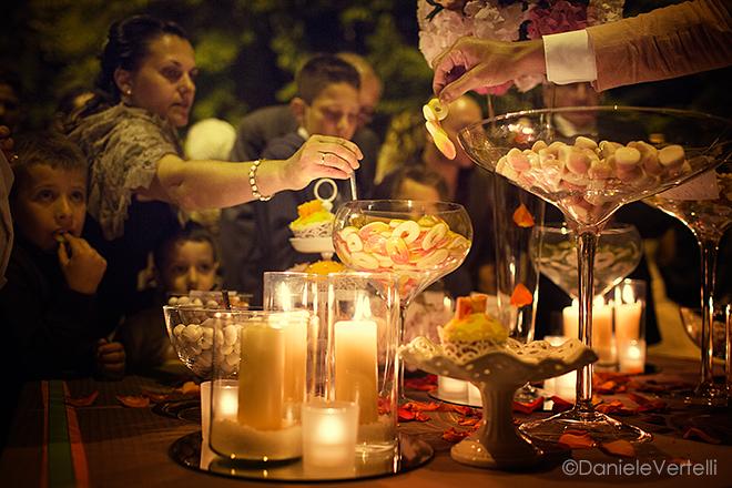matrimonio toscana banchetto