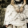 Paura abito sposa macchiato