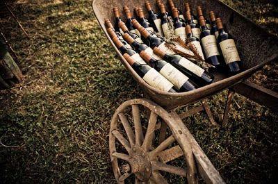 regalini di matrimonio: bottiglie di vino