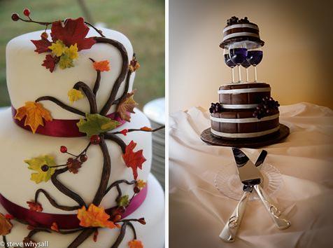 torta nuziale a tema vino