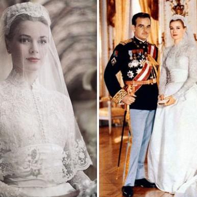 L'abito da sposa i Grace Kelly