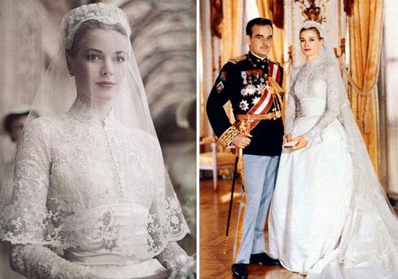 Il leggendario abito da sposa di Grace Kelly 8c2dc2c98f1