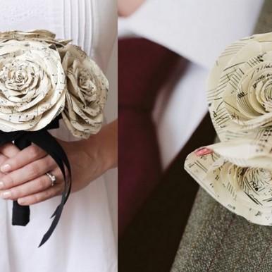 fiori carta matrimonio