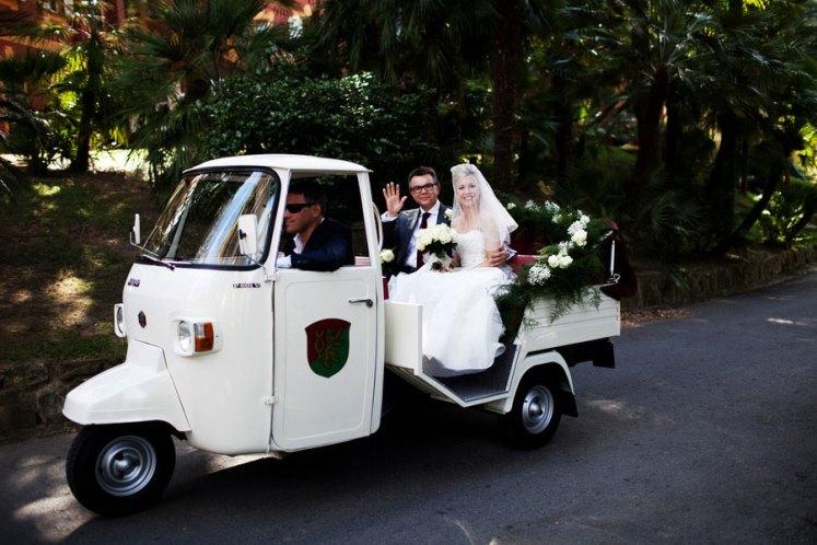 come arrivare in chiesa la matrimonio