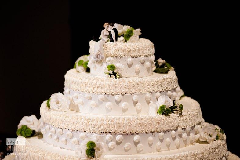 matrimonio vintage torta