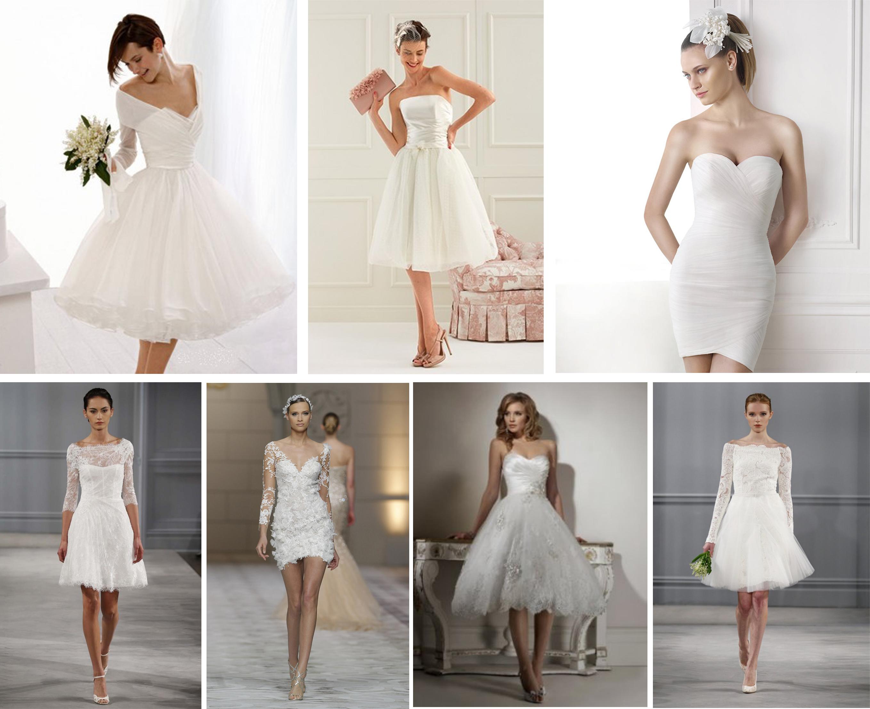 841cf25c7ba8 Chi l ha detto che l abito da sposa deve essere lungo  Tra i vestiti più  amati dalle future spose e che hanno conquistato un posto di rilievo in  molte ...