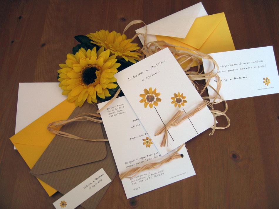 Matrimonio Fiori Girasole : Matrimonio con i girasoli fiori e foglie