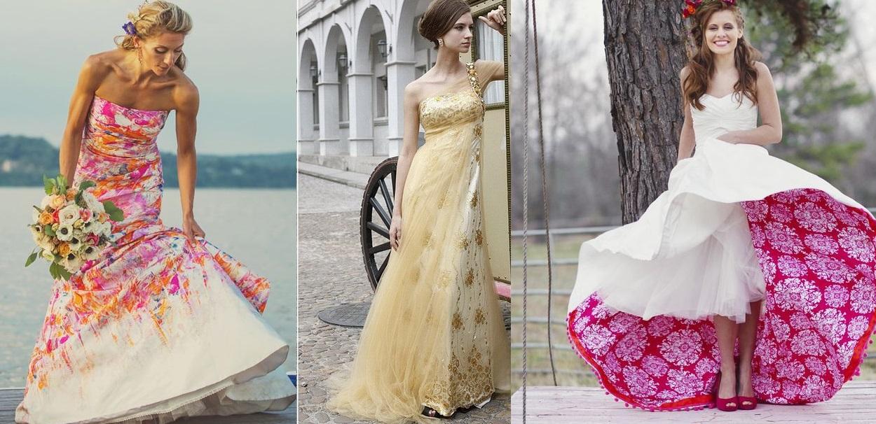 Nozze Ganze, tutto per sposarsi in Toscana Abito bianco o colorato?