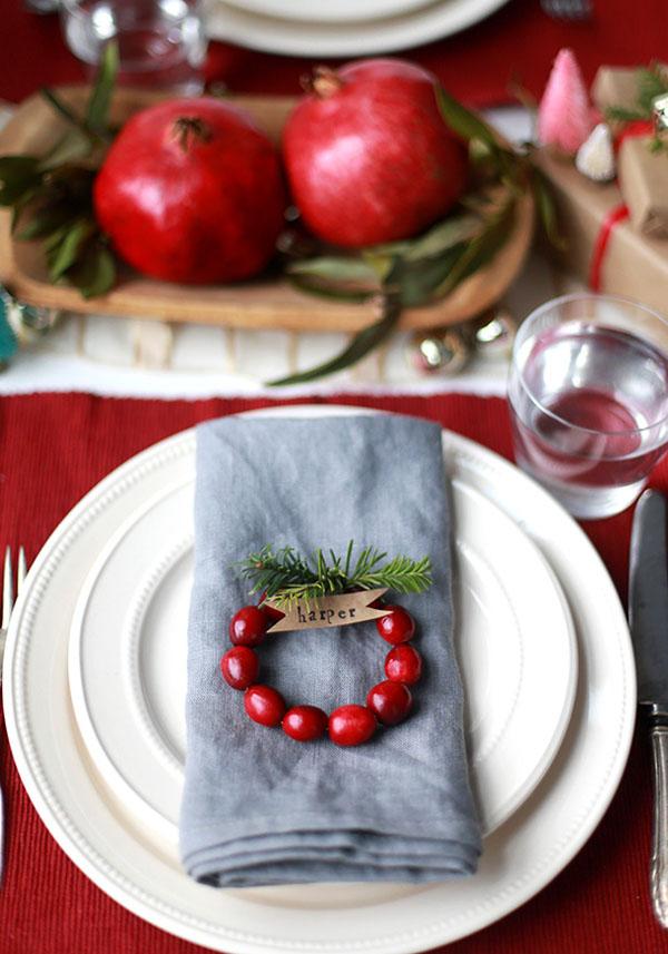 Segnaposto Natale Matrimonio.Nozze Ganze Tutto Per Sposarsi In Toscana Decorazioni Ispirate Al Natale Per La Tua Festa Di Matrimonio