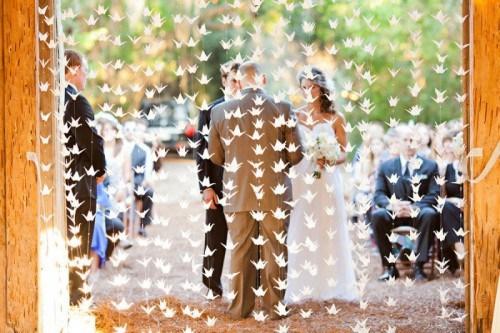 Matrimonio Tema Origami : Nozze ganze tutto per sposarsi in toscana origami che passione